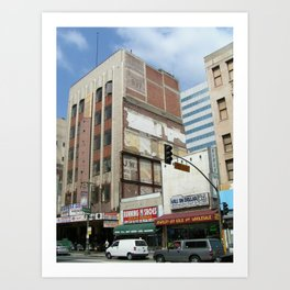 Los Angeles 537 Art Print