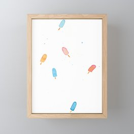 Pops of Summer Framed Mini Art Print