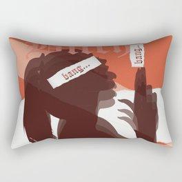 bang bang bxtch Rectangular Pillow