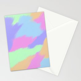 Watercolor pastel Stationery Cards