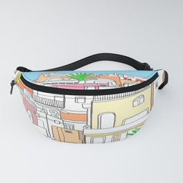 Italy Seaside Town And Beach - Ischia Island Fanny Pack