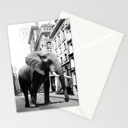 Street walker II Stationery Cards