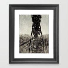 trestle Framed Art Print