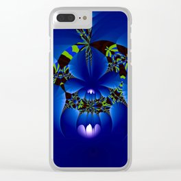 Secret of the night Clear iPhone Case