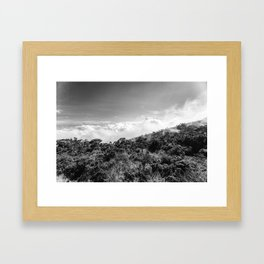 Foggy days Framed Art Print