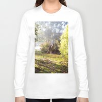 kangaroo Long Sleeve T-shirts featuring Kangaroo by Nove Studio