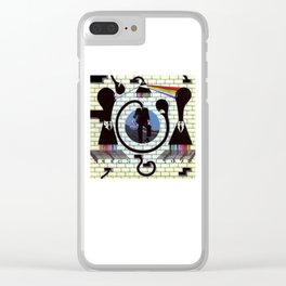 Pinky and the Floyd Brain Damage Clear iPhone Case