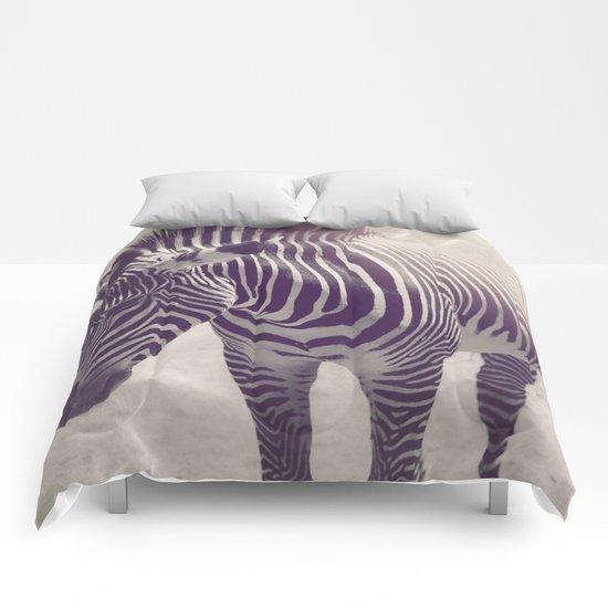 Zebra Stripes Comforters