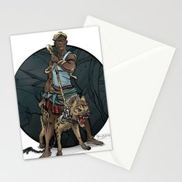 African Thug Stationery Cards