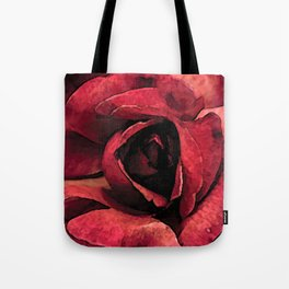Inside roses colors urban fashion culture Jacob's 1968 Paris Agency Tote Bag