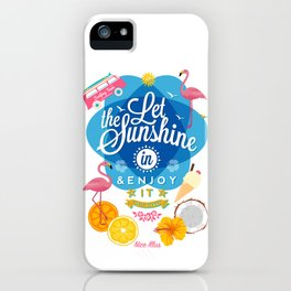 Let the Sunshine in No.2 iPhone Case