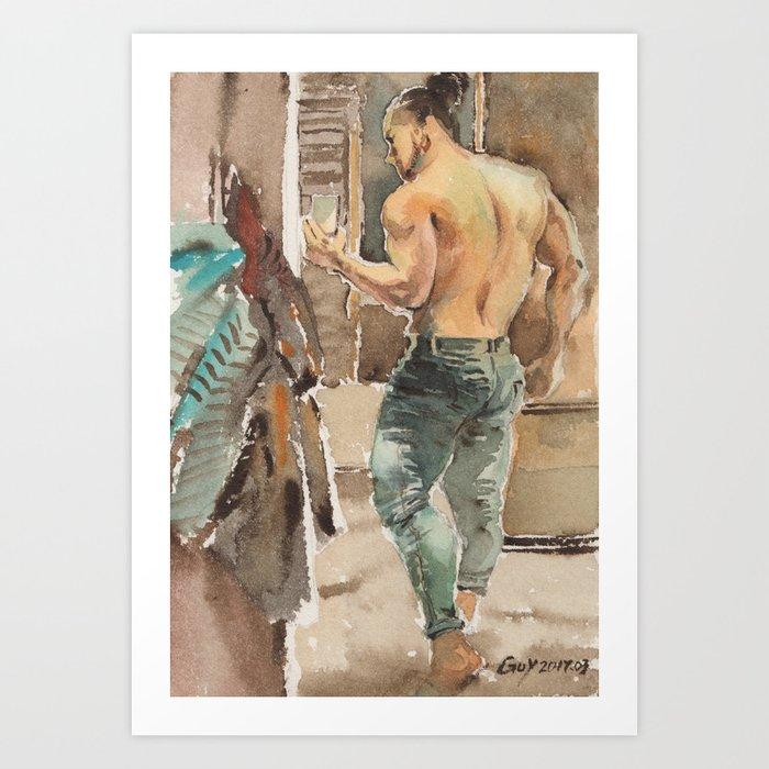 gay Kunstdrucke
