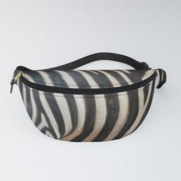 Zebra Print Fanny Pack