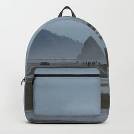 Haystack Rock on Cannon Beach Backpack