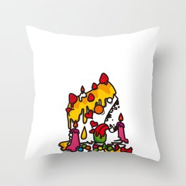 cake..... Throw Pillow