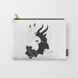 Lucifer Hand Shadow Carry-All Pouch