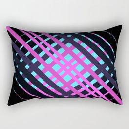 """The Girls rock"" minimal geometric Rectangular Pillow"