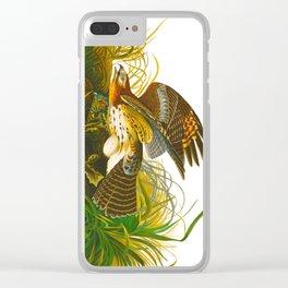 Winter Hawk Clear iPhone Case