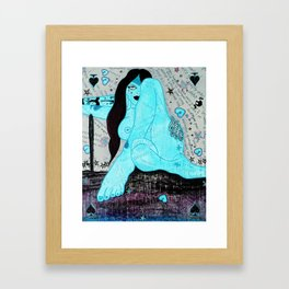 Zoe Thunder Framed Art Print