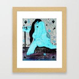Zoe Thunder Framed Art Print