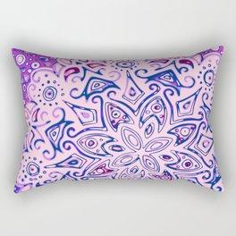 Mandala sugar cloud Rectangular Pillow