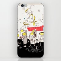 jazz iPhone & iPod Skins featuring Jazz by Nayoun Kim