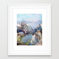 tchmo Framed Art Prints featuring Untitled 20120323f (Landscape) by tchmo