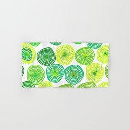 Lemon-Lime Lift Spring Abstract Hand & Bath Towel