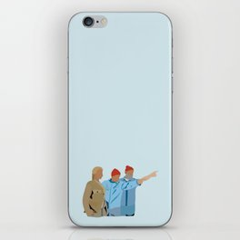The Life Aquatic with Steve Zissou: Minimalist Poster iPhone Skin