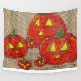 Lantern Patch Wall Tapestry