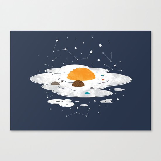 Egg Dimension Canvas Print