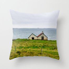 Twin Houses Throw Pillow