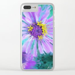 Flower #2 Clear iPhone Case
