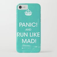 panic at the disco iPhone & iPod Cases featuring PANIC by Vin Zzep