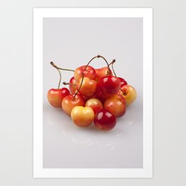 Vibrant Fruit Art Print