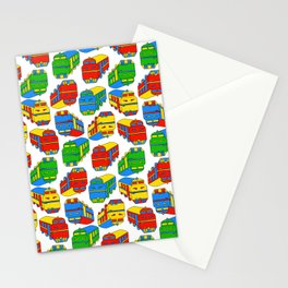Trains Stationery Cards