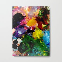 Abstract Palette #3 Metal Print