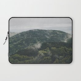 The mountain is breathing Laptop Sleeve