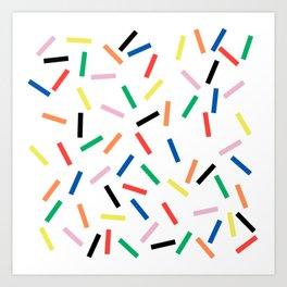 Sprinkles Fresh Art Print