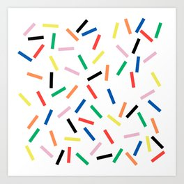 Sprinkles Fresh Art Print