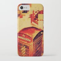 telephone iPhone & iPod Cases featuring Telephone  by Ukridge