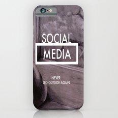Social Media iPhone 6s Slim Case