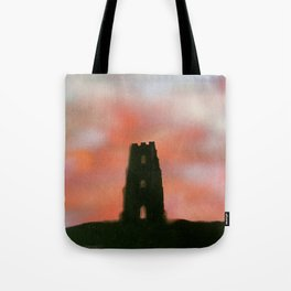 Sunset Over the Tor Tote Bag