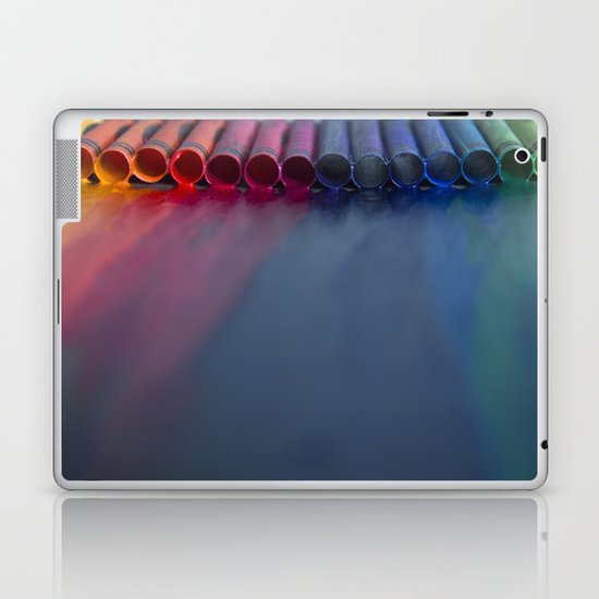 Crayons: Just Melted Laptop & iPad Skin