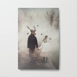 Creatures of Commonplace Metal Print