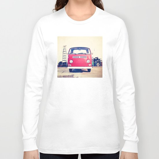 Vintage Volkswagen Bus Long Sleeve T-shirt