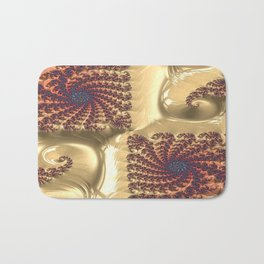 Even Circumstance Fractal - Abstract Art Bath Mat