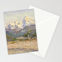 Claude Monet - The Valley of the Nervia (1884) Stationery Cards