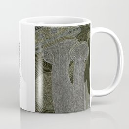 King Trumpet Mushrooms Coffee Mug