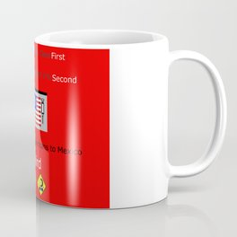 America FIrst Coffee Mug